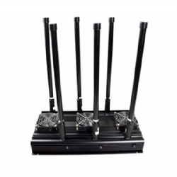 GPS Signal Jammer, Output Power 100W GPSL1-L5 Glonass Signal Jammer Up to 500m