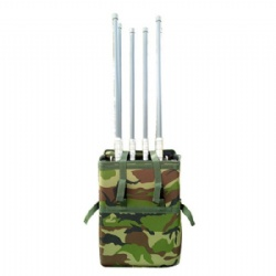 High Power Backpack Mobile Phone Signal Jammer with 6 Bands GSM 4G Cell Phone Jammer VIP Protection