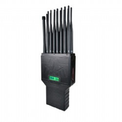 16 Antennas All-in-One Full Bands Cell Phone Signal Jammer Blocking 315/433/868(Remote Control)GPS WIFI